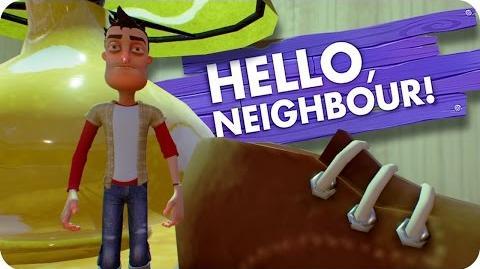 FLOOR! - Hello Neighbour (Hello Neighbor, Alpha 2 Gameplay)