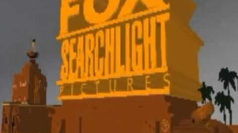 Fox Searchlight Pictures logo Blender 2011 (my version)