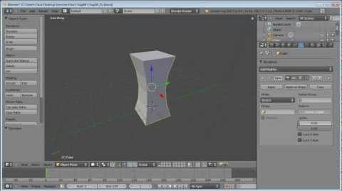 How to work with modifiers in Blender lynda.com tutorial