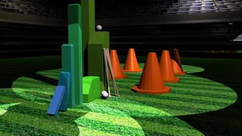 Baseball Rube Goldberg Animation Demo