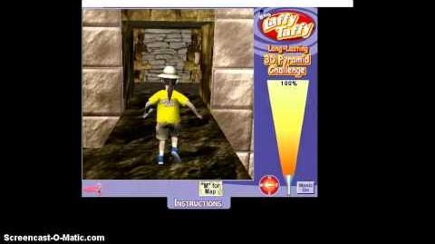 Laffy Taffy 3D Pyramid Game -D