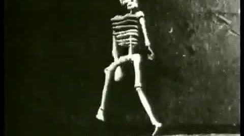 Auguste e Louis Lumière (1895 ) - Le squelette joyeux