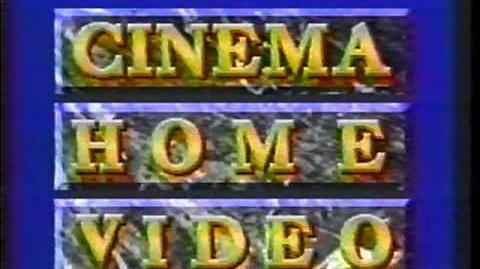 VHS Companies From the 80's -7 - CINEMA HOME VIDEO