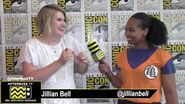 """Jillian Bell discusses playing an """"Angsty"""" Character on Bless The Harts SDCC 2019"""