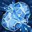 Ice element icon