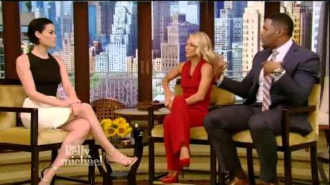 Jaimie Alexander interview Live! With Kelly and Michael 04 26 16