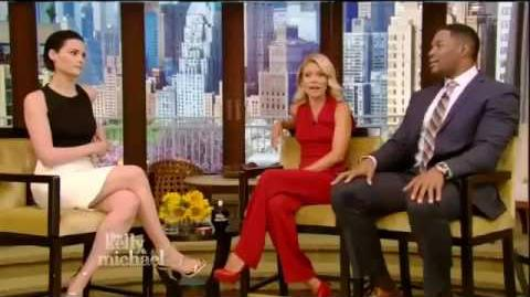 Jaimie Alexander interview Live! With Kelly and Michael 04 26 2016 HD