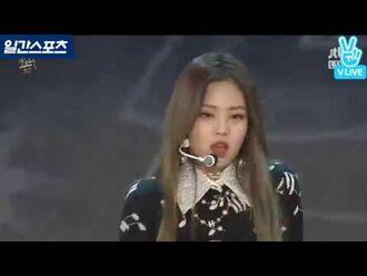 -2017 골든디스크- 디지털음원부문 신인상 - BlACKPINK 'Intro + 휘파람 + 불장난'