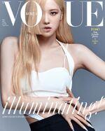 Rosé Vogue Korea June 2021