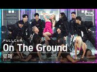 -안방1열 직캠4K- 로제 'On The Ground' 풀캠 (ROSÉ Full Cam)│@SBS Inkigayo 2021.03.14.
