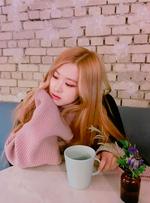 Rosé with mug of tea