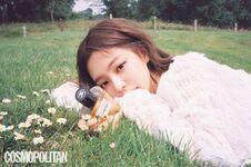Jennie Cosmopolitan Korea magazine July 2018 issue 4