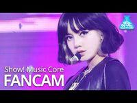 -예능연구소- 블랙핑크 리사 직캠 'Lovesick Girls' (BLACKPINK LISA FanCam) @Show!MusicCore 201017