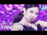 -예능연구소- 블랙핑크 제니 직캠 'Lovesick Girls' (BLACKPINK JENNIE FanCam) @Show!MusicCore 201017