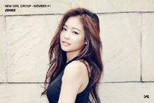 Black pink Jennie debut1