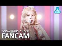 -예능연구소 직캠- BLACKPINK - Kill This Love (ROSÉ), 블랙핑크 - Kill This Love (로제) @Show! Music Core 20190406