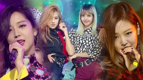 《EXCITING》 BLACKPINK(블랙핑크) - WHISTLE (휘파람) @인기가요 Inkigayo 20160828