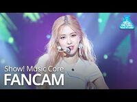 -예능연구소 직캠- BLACKPINK - Don't Know What To Do (ROSÉ), 블랙핑크 (로제) @Show! Music Core 20190406