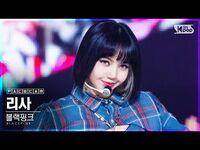 -페이스캠4K- 블랙핑크 리사 'Lovesick Girls' (BLACKPINK LISA FaceCam)│@SBS Inkigayo 2020.10.25.
