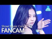 -예능연구소- 블랙핑크 제니 직캠 'How You Like That' (BLACKPINK JENNIE FanCam) @Show!MusicCore 200718
