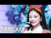 -예능연구소- 블랙핑크 제니 직캠 'Lovesick Girls' (BLACKPINK JENNIE FanCam) @Show!MusicCore 201010