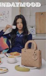 Jisoo x Harper's Bazaar Magazine December 2020 3