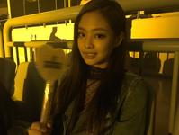 Jennie at Ariana Grande concert in Seoul IG Update
