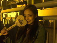 Jennie at Ariana Grande concert in Seoul IG Update 3