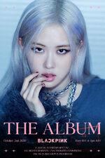 The Album Rosé Teaser Poster 1