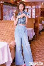 Jennie Cosmopolitan Korea magazine July 2018 issue 5