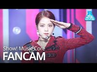 -예능연구소 직캠- BLACKPINK - Kill This Love (JISOO), 블랙핑크 - Kill This Love (지수) @Show! Music Core 20190406