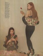 Jennie and Rose Elle Korea Magazine April 2018