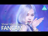 -예능연구소- 블랙핑크 로제 직캠 'How You Like That' (BLACKPINK ROSÉ FanCam) @Show!MusicCore 200718