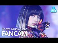 -예능연구소- 블랙핑크 리사 직캠 'How You Like That' (BLACKPINK LISA FanCam) @Show!MusicCore 200718