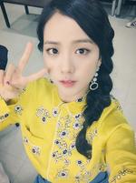 Jisoo Inkigayo 2