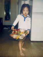 Jennie as a baby IG Update 160117