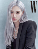 Rosé W Korea October 2020 6