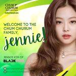 Jennie Churum Soju Endorser