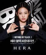 Jennie for Hera Black Foundation