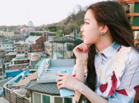 Rosé Behind The Scenes of Trevi 4