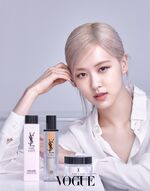 Rosé YSL Beauty April 2021 5