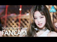 -예능연구소- 블랙핑크 제니 직캠 'Pretty Savage' (BLACKPINK JENNIE FanCam) @Show!MusicCore 201010