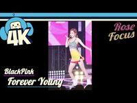 -4K & Focus Cam- Blackpink - Forever Young (Rose Focus) @Show! Music Core 20180804 블랙핑크 - 포에버 영