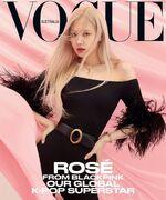 Rosé Vogue Australia April 2021