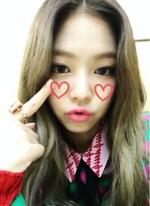 Jennie Inkigayo Snow Stay 2