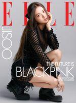 Jisoo Elle Magazine October 2020