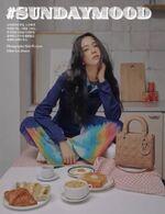 Jisoo x Harper's Bazaar Magazine December 2020