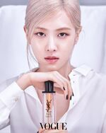 Rosé YSL Beauty April 2021