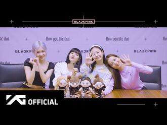 BLACKPINK - -How You Like That- ONLINE FANSIGNING EVENT