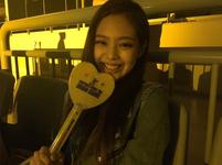 Jennie at Ariana Grande concert in Seoul IG Update 2